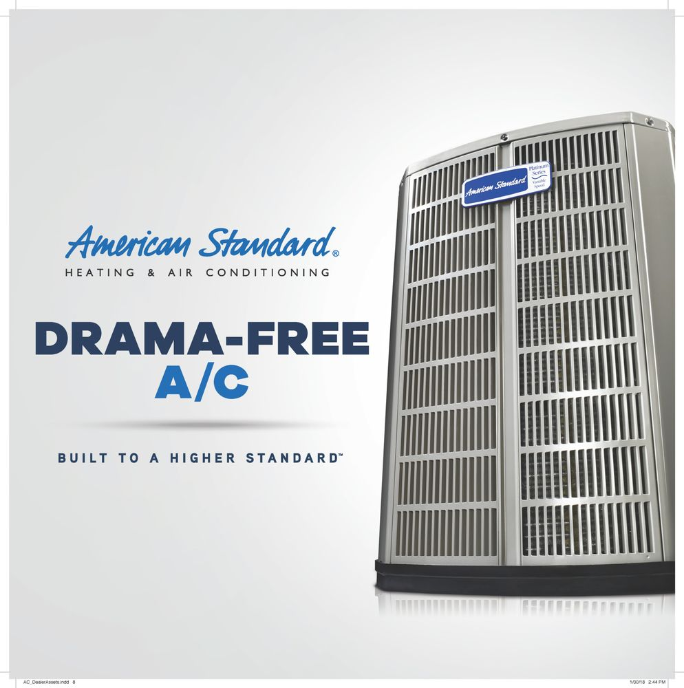 M.E. Flow is an authorized dealer of American Standard HVAC systems ...