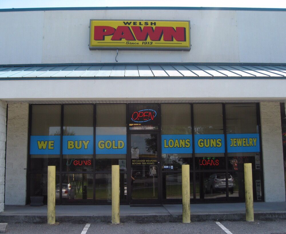 Front of welsh pawn shop rincon ga 31326 yelp for Pawn shops that buy wedding dresses near me