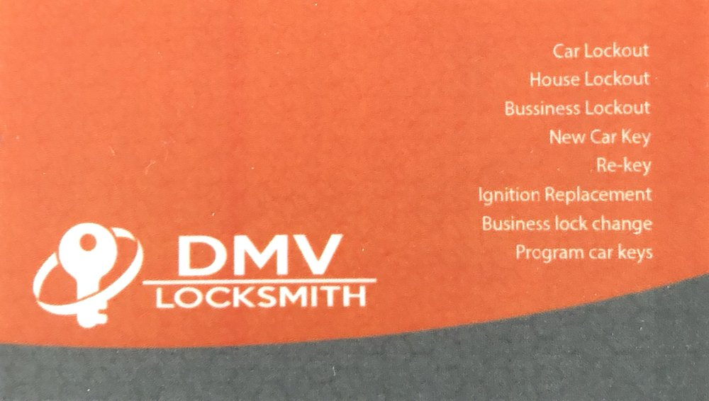 DMV Locksmith Services: Ashburn, VA