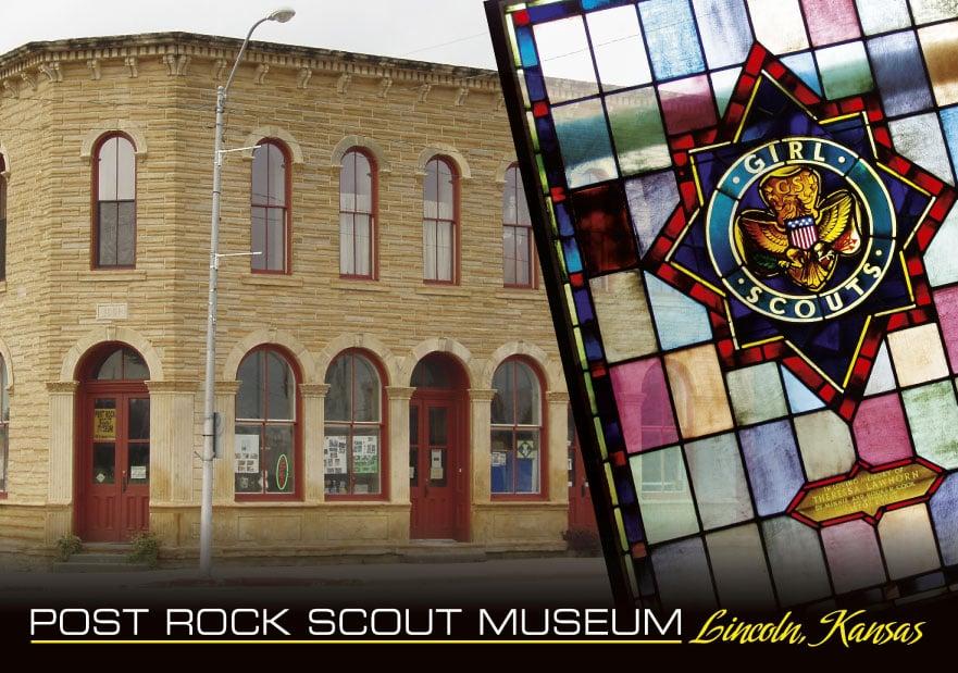 Post Rock Scout Museum: 161 E Lincoln Ave, Lincoln, KS