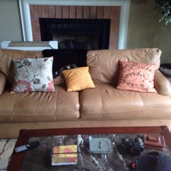 Good Photo Of Contents Consignment   Danville, KY, United States. 7ft Leather  Couch