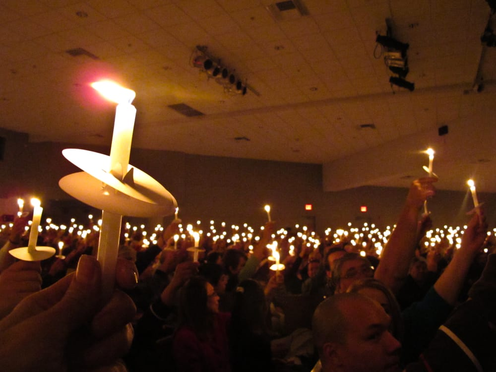 photo of desert chapel palm springs ca united states candlelight service on