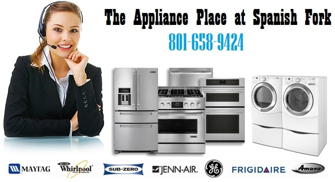 The Appliance Place at Spanish Fork: 158 E 400th N, Spanish Fork, UT