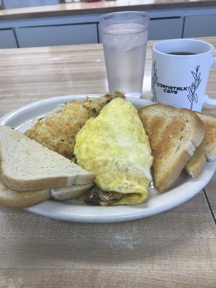 Cornstalk Cafe: 11 East St, Shelby, IA