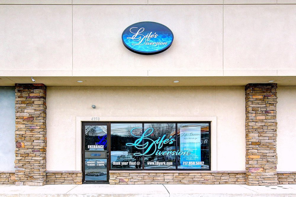 Life's Diversion Float and Relaxation Spa: 4350 N George St Extended, Manchester, PA