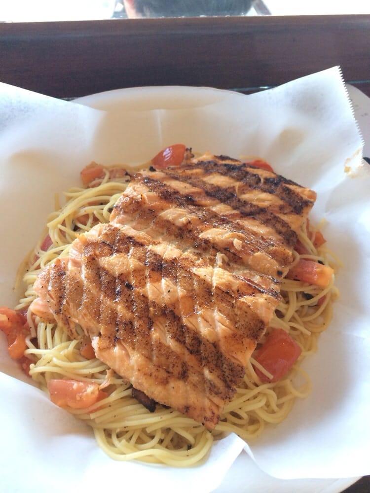 Salmon pasta yelp for Malibu fish grill