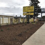 We Are Upgrading Photo Of Security Self Storage Chico Ca United States Updated Curbside Landscape