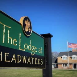 Photo Of The Lodge At Headwaters Boonville Ny United States Sign Main