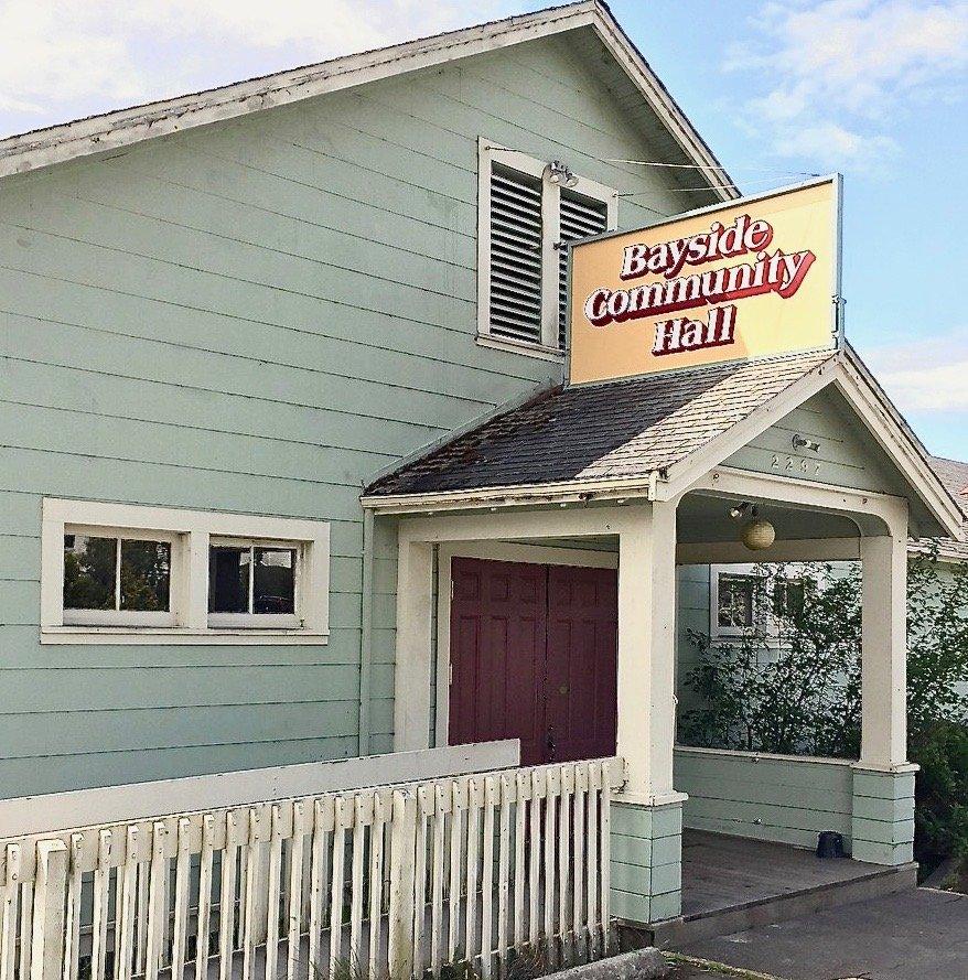 Bayside Community Hall: 2297 Jacoby Creek Rd, Bayside, CA