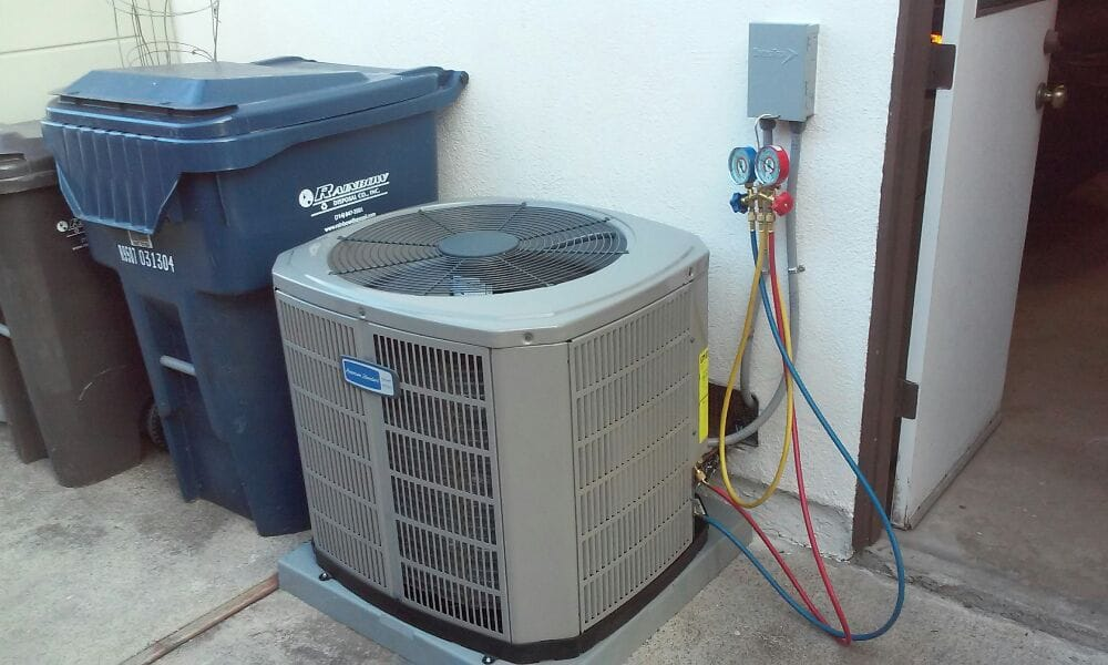 Newly Installed 2 5 Ton American Standard Condensing Unit