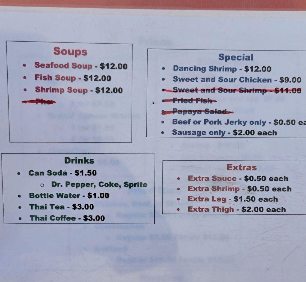 Lao Sticky Rice Food Truck: 210 S Dumas Ave, Dumas, TX