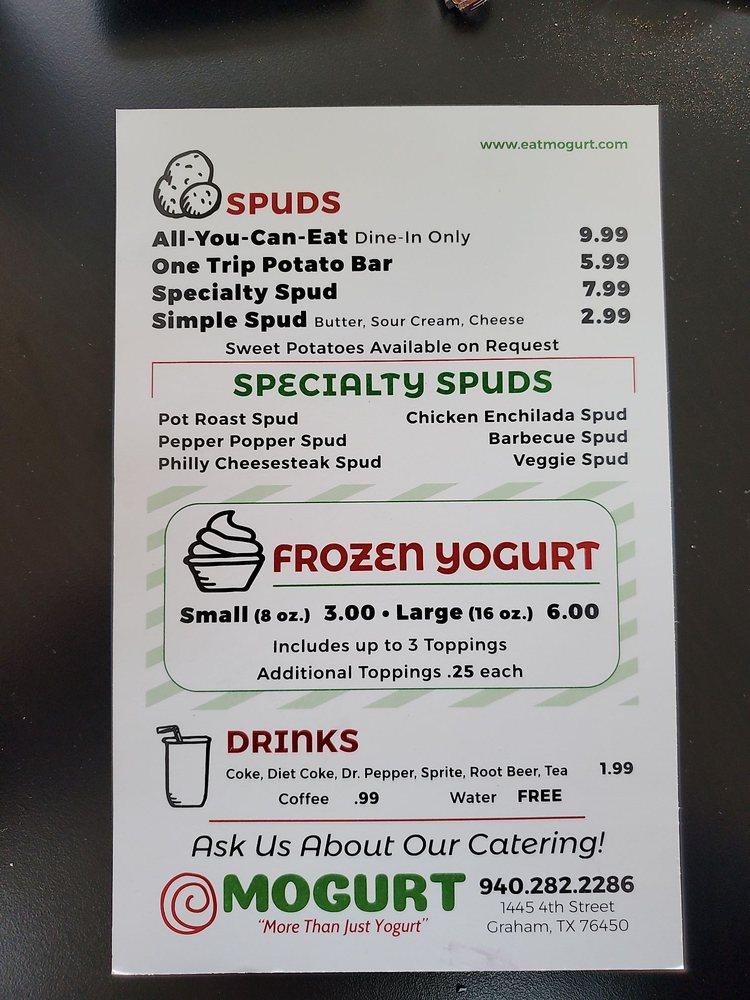 Mogurt: 1445 4th St, Graham, TX