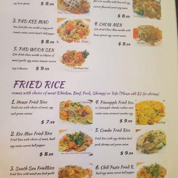 Little Thai Cafe Houston Tx