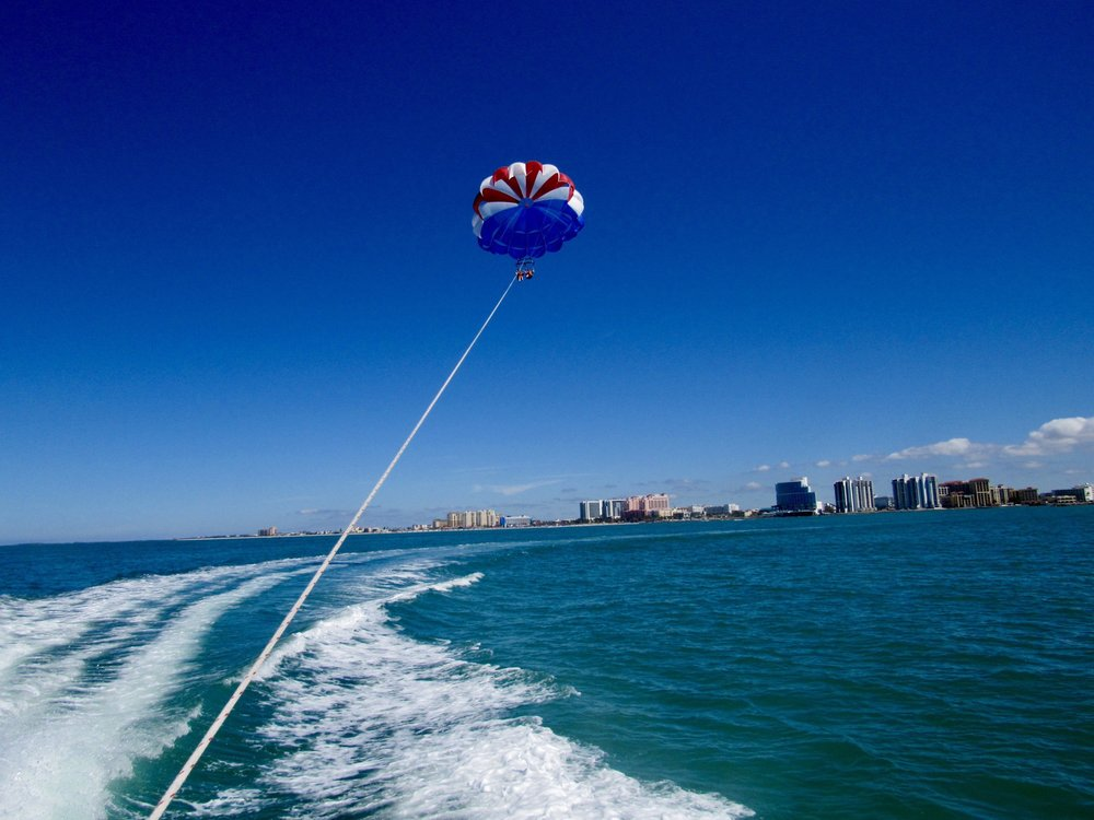 Chute Em Up Parasailing: 25 Causeway Blvd, Clearwater Beach, FL