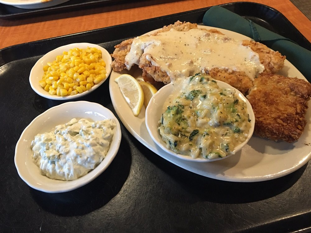 A lot of food but great for sharing fish fillet and for Lubys fried fish