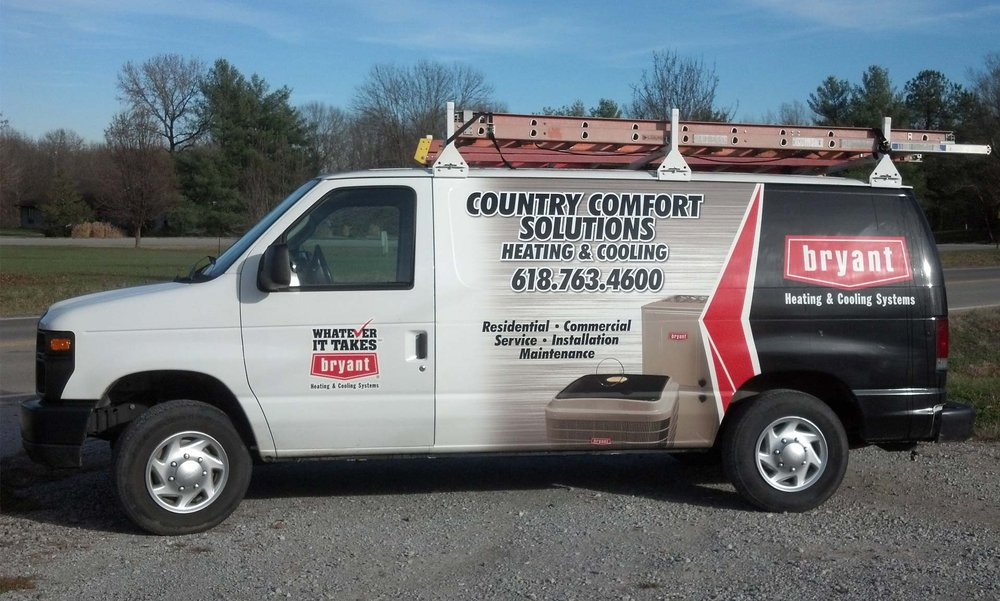 Country Comfort Solutions Heating & Cooling: 13616 Hwy 149, Murphysboro, IL