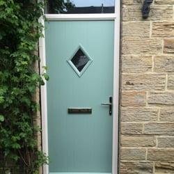 Photo of Yorkshire Doors - Bradford West Yorkshire United Kingdom. Doorstop Composite Doors & Yorkshire Doors - Glaziers - Young Street Bradford West Yorkshire ...