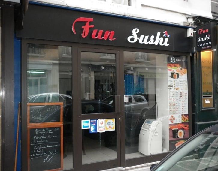 Fun sushi japanese 28 rue surcouf 7 me paris france restaurant revie - Tour maubourg restaurant ...