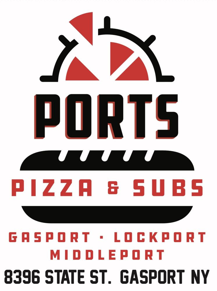 Ports Pizza & Subs: 8396 State St, Gasport, NY