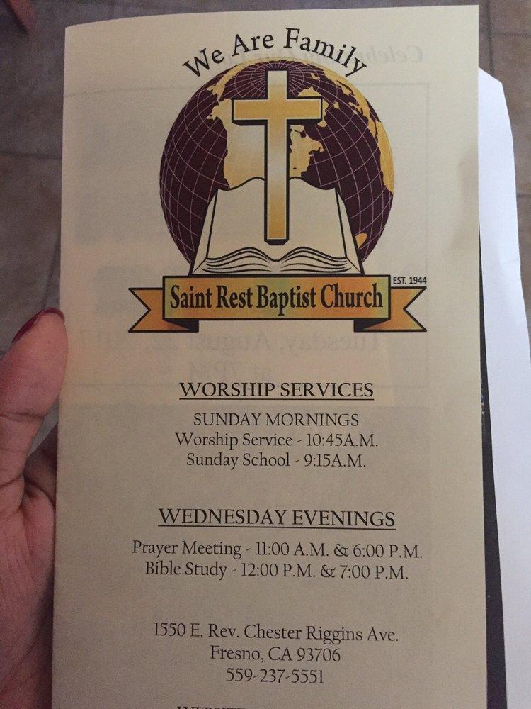 Riggins Chester Rev St Rest Baptist Ch