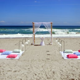 Photo Of Love Is A Beach Wedding Melbourne Fl United States