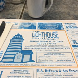 Photo Of The Lighthouse Restaurant Johnston Ri United States