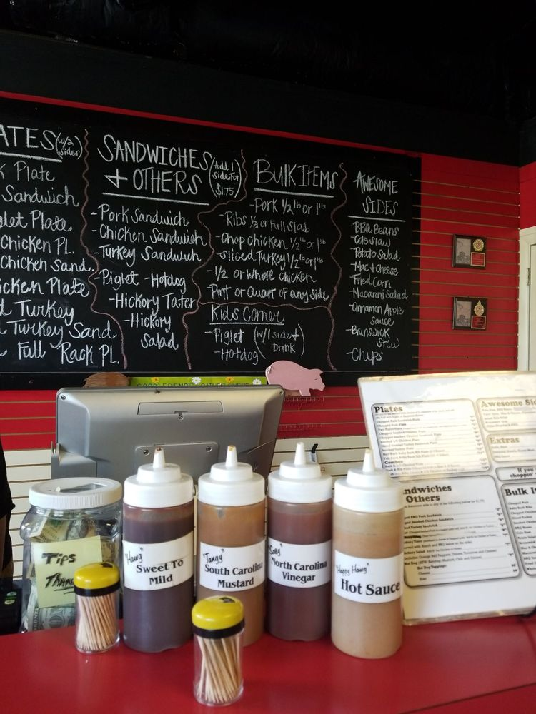 The Happy Hawg: 1130 Main St, Andrews, NC