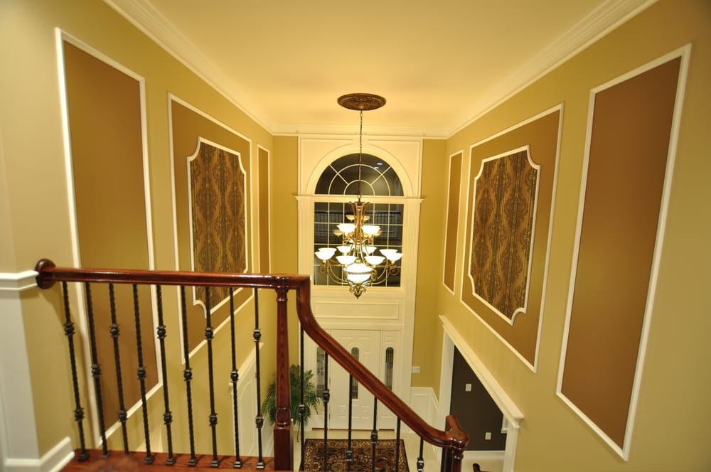 Foyer Door Frame : Foyer picture frames and front door trim also custom