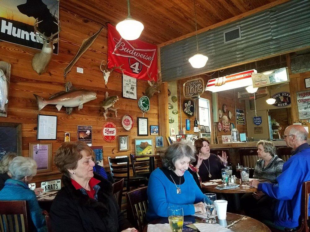 White Horse Tavern: 400 N Main St, Burton, TX