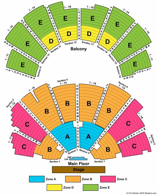 Ryman auditorium seating chart yelp