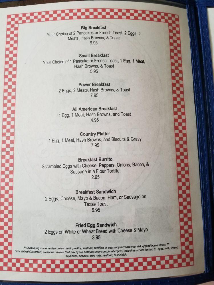 Mabel's Cafe: 423 Broadway St, Larned, KS
