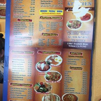 Mama S Kitchen Restaurant Foothill Blvd