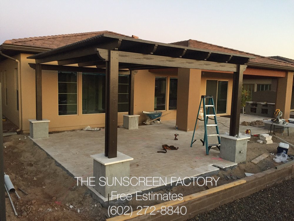 Photo Of The Sunscreen Factory   Phoenix, AZ, United States. Alumawood Patio  Covers