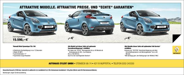 Autohaus Eylert renault eylert in barmen car dealers berliner str 9 wuppertal