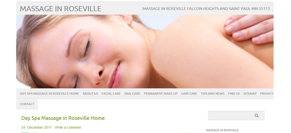 Day spa facial twin cities area