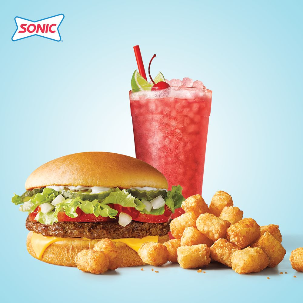 Sonic Drive-In: 3909 West 10th St, GREAT BEND, KS