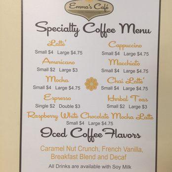Emmas Cafe Stow Ma