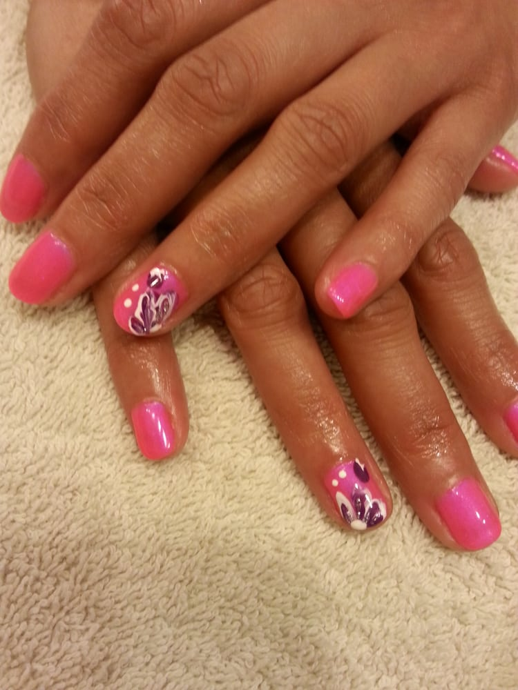 Neon Orly Gel Fx Gel Polish Oh Cabana Boy W Nail Art By Mai Yelp