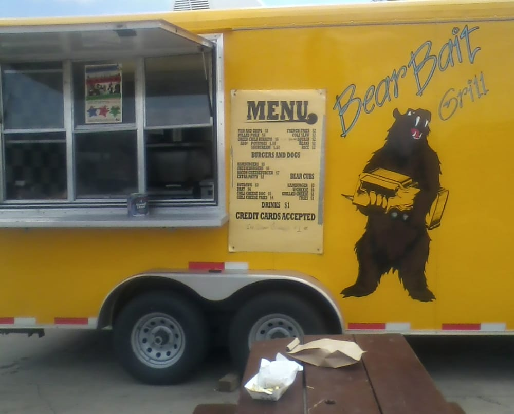 Food from Bear Bait Grill