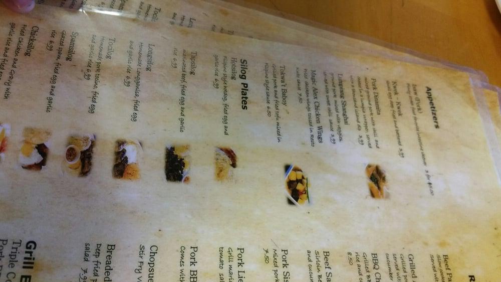 Resto Kubo Kitchen Hayward Menu