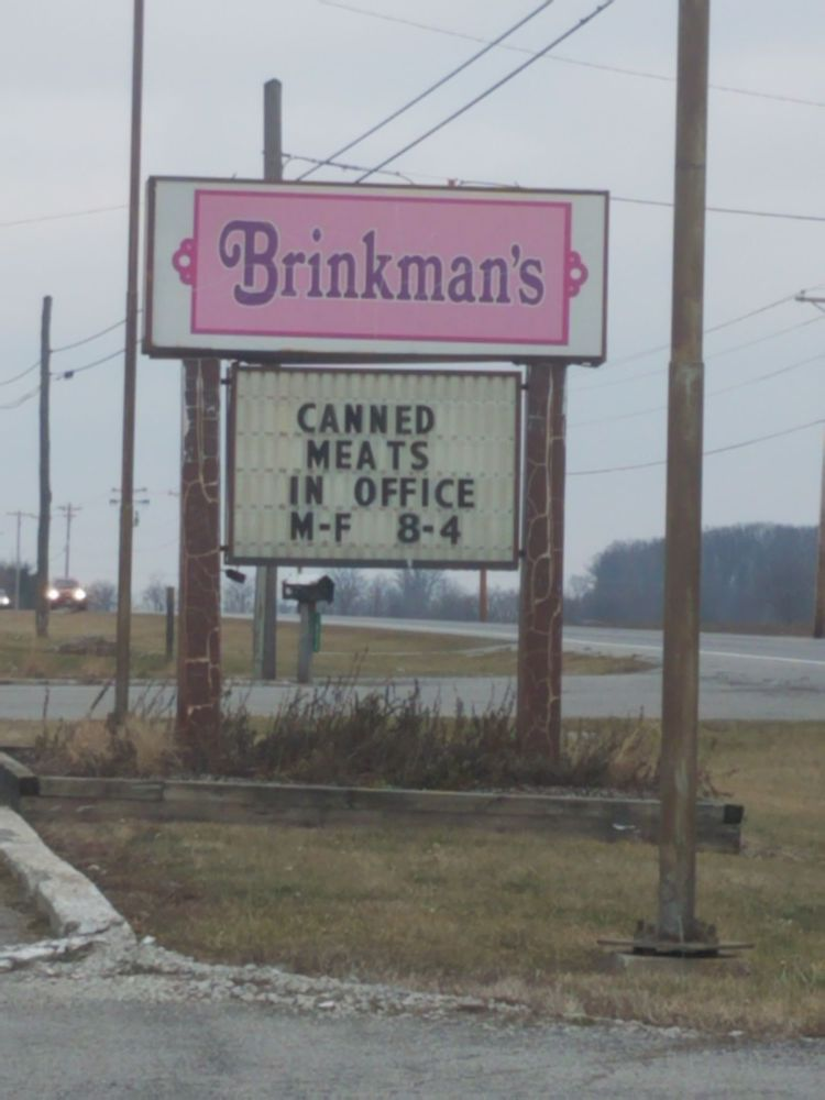 Brinkmans Cannery & Greenhouse: 16314 State Route 68, Findlay, OH