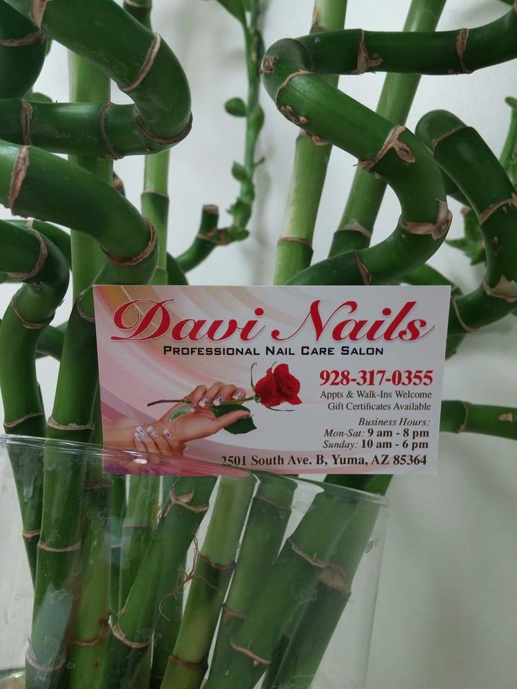 Da Vi Nails: 2501 S Ave B, Yuma, AZ