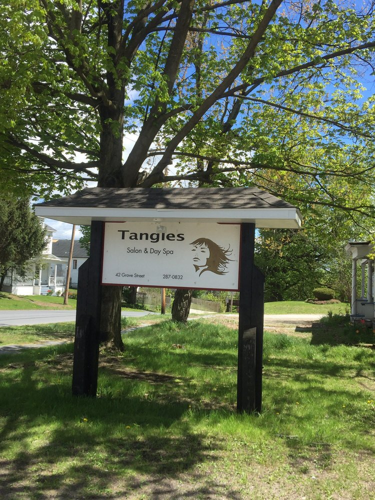 Tangles Salon & Day Spa: 42 Grove St, Gouverneur, NY