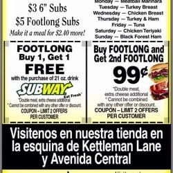 Subway Restaurants Lodi Ca