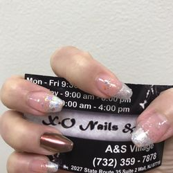 image about Printable Nails named Xo Nails In just Wall Nj. Xo. No cost Printable Nail Artwork Style Databases