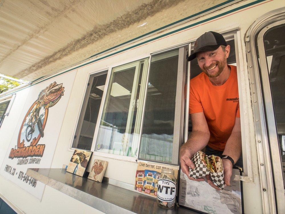 The Rockgarden Sandwich: 1045 E Cleveland Ave, Fruita, CO