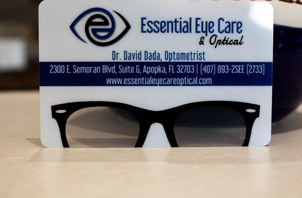 Essential Eyecare & Optical: 2300 E Semoran Blvd, Apopka, FL