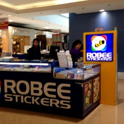 Robee stickers customized merchandise 3f sm megamall building photo of robee stickers plainview metro manila philippines robee stickers kiosk in stopboris Images