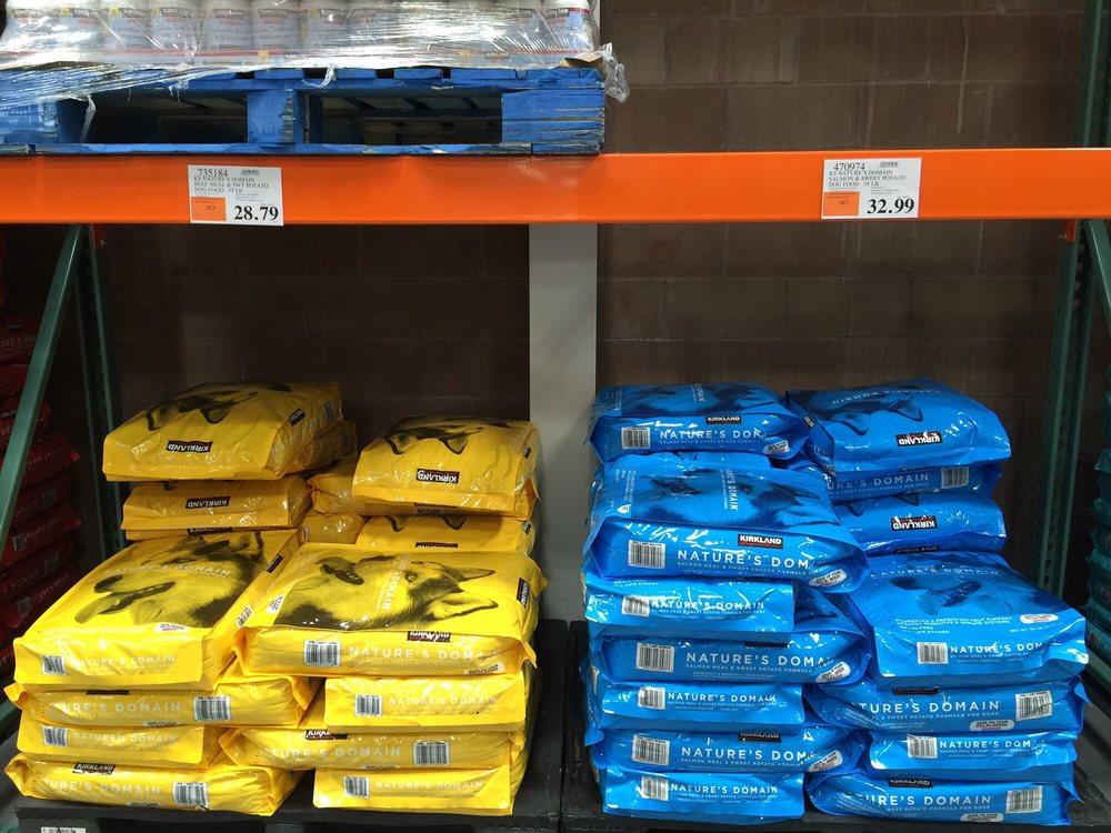 select dog food pricing