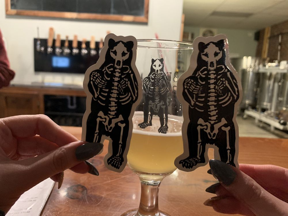 Bear Bones Beer: 43 Lisbon St, Lewiston, ME
